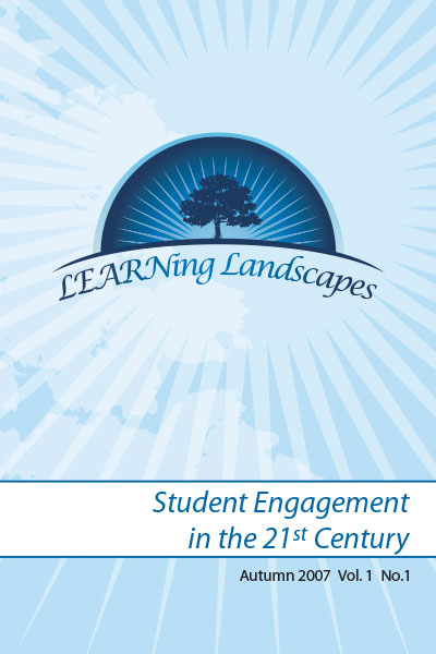 Vol 1 No 1 (2007): Student Engagement in the 21st Century
