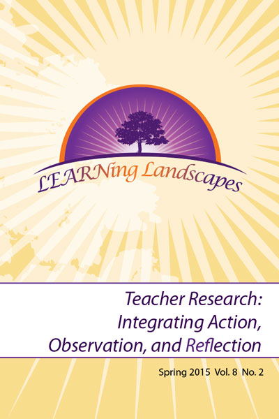 Vol 8 No 2 (2015): Teacher Research: Integrating Action, Observation and Reflection
